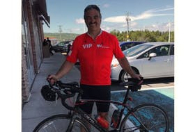 Gander's Greg Drover will hit the highway on June 6 and bike 178 kilometres in the Ride for Heart virtual event in aid of the Heart & Stroke Foundation.