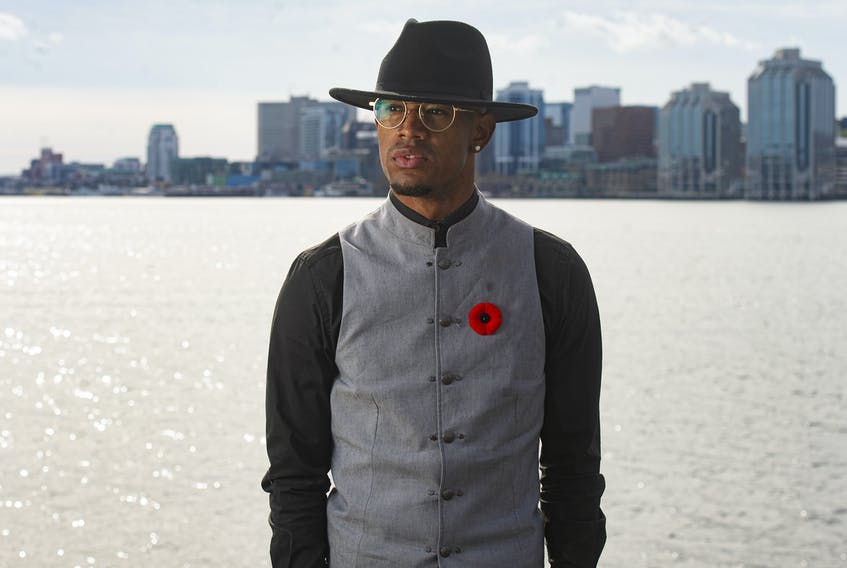 Anti-violence activist Quentrel Provo poses for a photo on the Dartmouth waterfront. Almost a year after thousands of people took to the streets in Halifax to protest George Floyd's murder, he hasn't seen any real change.