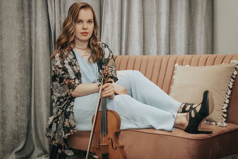 Violinist and singer Rosemary Lawton has won awards for her Celtic and traditional albums. Now, she is