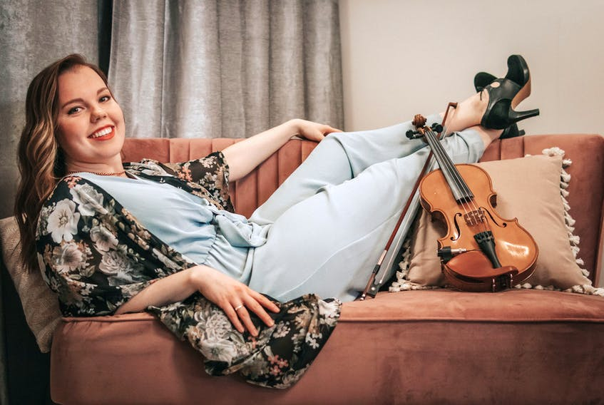 Rosemary Lawton has learned a lot from touring in the past few years, playing Celtic and traditional music across the island and in Alberta. And with that life experience, her inspiration to write was 'on bust,' she said. Her new album, 'Canvas,' out on May 28, is the result of that burst of inspiration.