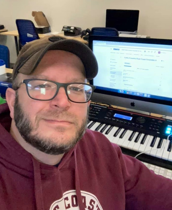 Stephen MacIntyre is one of the students taking part in NSCC's music arts program. Contributed - Contributed