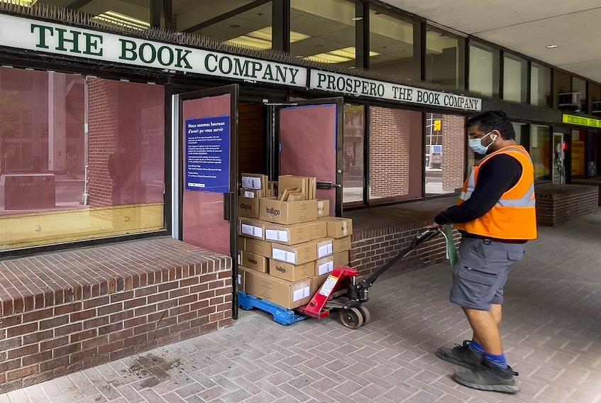 Prospero The Book Company closed up Wednesday.
