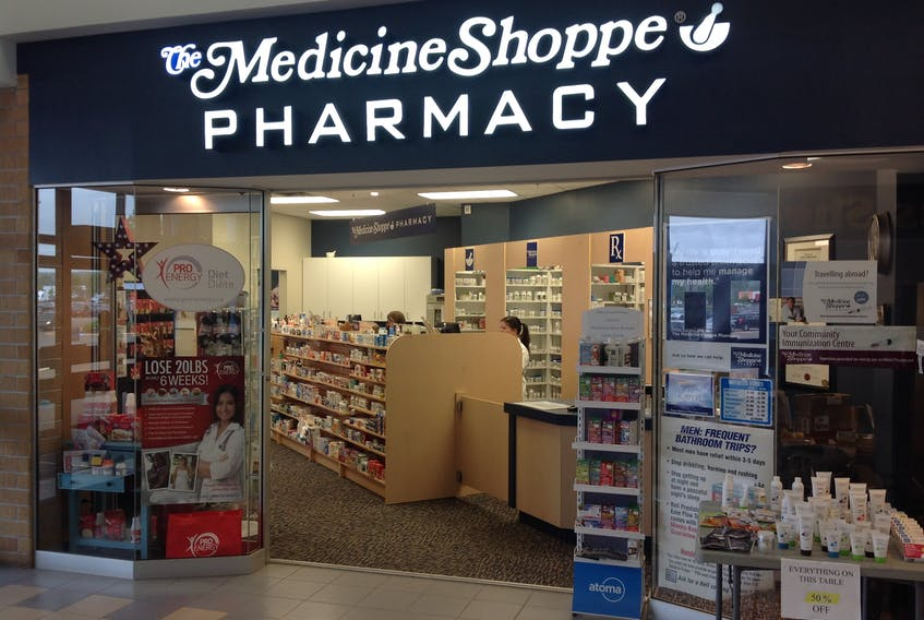 """""""My medicines are no different from anyone else's — what's different is the quality of service,"""" explains Peter Bakes, pharmacist and owner of The Medicine Shoppe in the Truro Mall. """"Relationships are everything at a small pharmacy like ours."""" - Photo Contributed."""