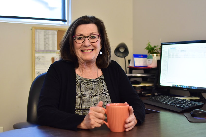 The merger of Rhyno's Heating, Ventilation, Air Conditioning & Refrigeration and Langille's Plumbing & Heating Limited was officially announced on April 15, 2020, but with all the COVID-related chaos of last spring — with its shutdowns and school closures — longtime employee Mary Comeau says many locals still don't realize the two businesses came together. - Photo Contributed.