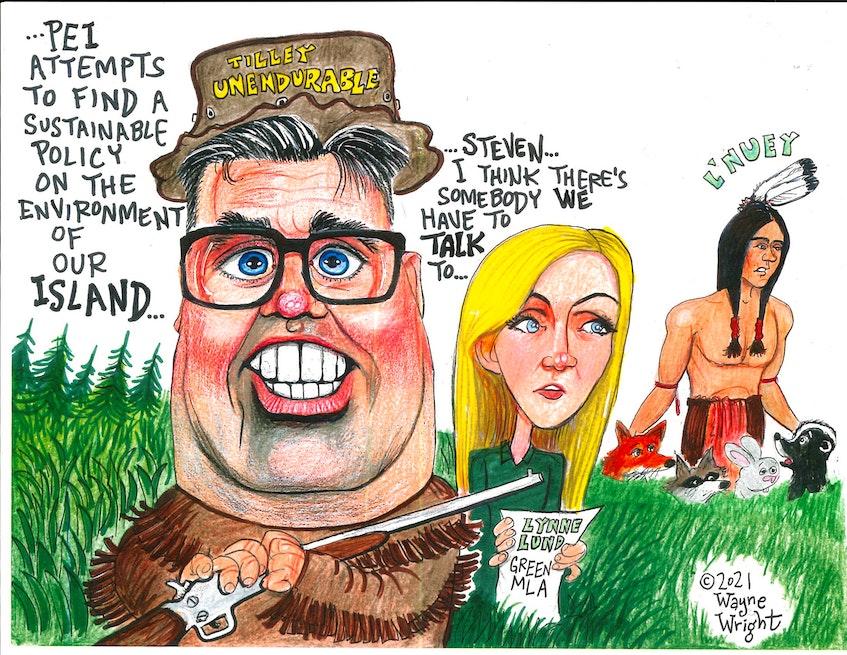 Wayne Wright's editorial cartoon for May 26, 2021. - Wayne Wright