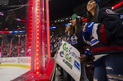 Canucks fans show their passion during pre-pandemic times at Rogers Arena, where a full house hasn't greeted the home team since March of 2020.