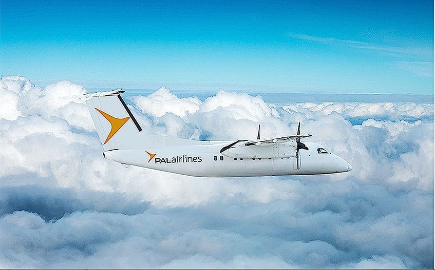 A PAL Airlines Dash 8-100 aircraft will be used when the carrier starts offering Sydney-Halifax flights. Service is now expected to start June 28.  - Contributed