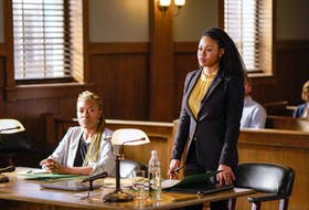 Production is currently underway in Halifax on Season Three of CBC-TV's Diggstown, with special guest Jully Black joining series star Vinessa Antoine on an episode of the popular legal drama. - Dan Callis/CBC