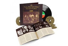 The 50th anniversary of Crosby, Stills, Nash & Young's Déjà Vu is being celebrated by an expanded deluxe box set that adds more than nearly two-and-a-half hours of music – including demos, outtakes and alternate takes – most of which are previously unreleased.