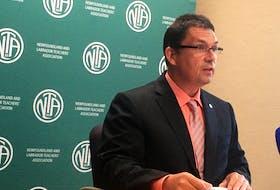 NLTA president Dean Ingram urged caution regarding 36 central Newfoundland schools in COVID-19 outbreak areas reopening on Thursday.