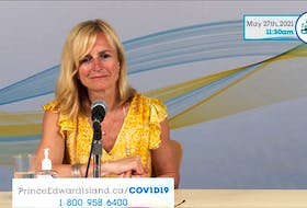 Chief public health officer Dr. Heather Morrison announced on Thursday the province's plan to ease COVID-19 restrictions.