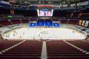 Hockey fans undoubtedly hope this season-ending Canucks game, played a week ago Tuesday against visiting Calgary, is the last time a Canucks game is played with no fans in the building.