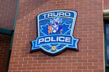 The police logo in Truro, N.S.
