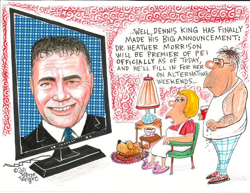 Wayne Wright's editorial cartoon for Wednesday, June 2, 2021. - Wayne Wright