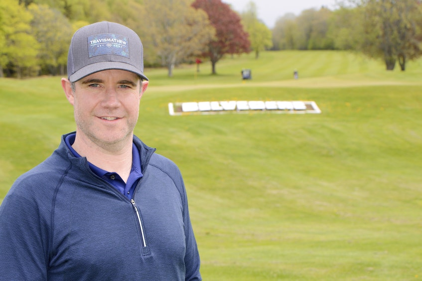 Mark Carragher is a member at the Belvedere Golf Club. - Jason Malloy