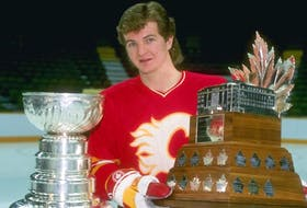 Al MacInnis of Port Hood has won the Stanley Cup twice — as a player with the Calgary Flames in 1989 and as a senior adviser with the St. Louis Blues in 2019. CONTRIBUTED • NHL.COM