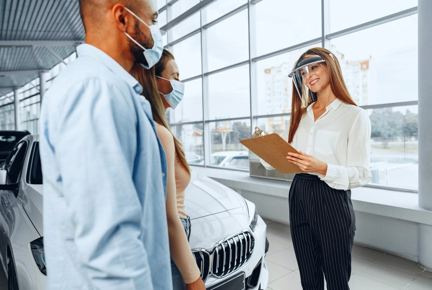 The pandemic has changed the act of buying a car, including what kind of vehicle you will end up getting. 123rf stock photo
