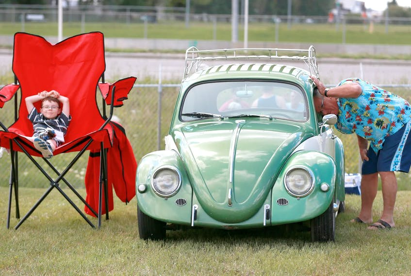 Father's Day car shows aren't happening this year — this is an image from the 2018 Father's Day Wings and Wheels event in Calgary — but that doesn't mean you can't show your dad some car-love on June 20. Greg Williams offers up three great books for dad.  Jim Wells/Postmedia News file