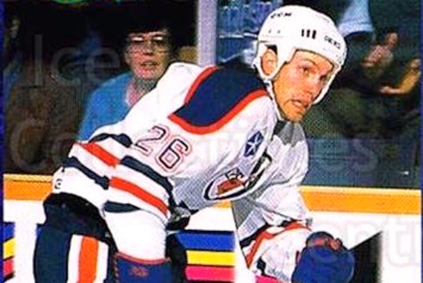 Ian Herbers played parts of three seasons with the Cape Breton Oilers from 1992 to 1994 and won a Calder Cup with the team in 1993. Today, the 53-year-old is the head coach of the University of Alberta Golden Bears.