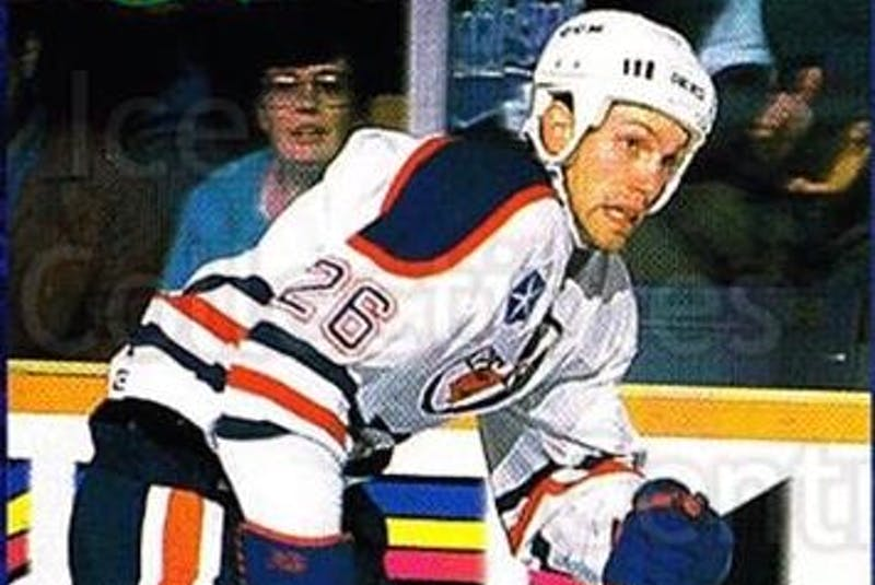 Ian Herbers played parts of three seasons with the Cape Breton Oilers from 1992 to 1994 and won a Calder Cup with the team in 1993. Today, the 53-year-old is the head coach of the University of Alberta Golden Bears. - Contributed