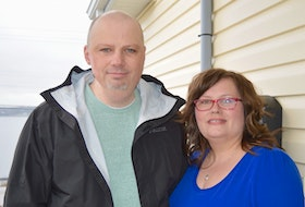Pat and Monique Cashin of Upper North Sydney are grateful for a new treatment for his salivary gland cancer that uses biomarker testing to determine the best treatment for each individual. Elizabeth Patterson • Cape Breton Post
