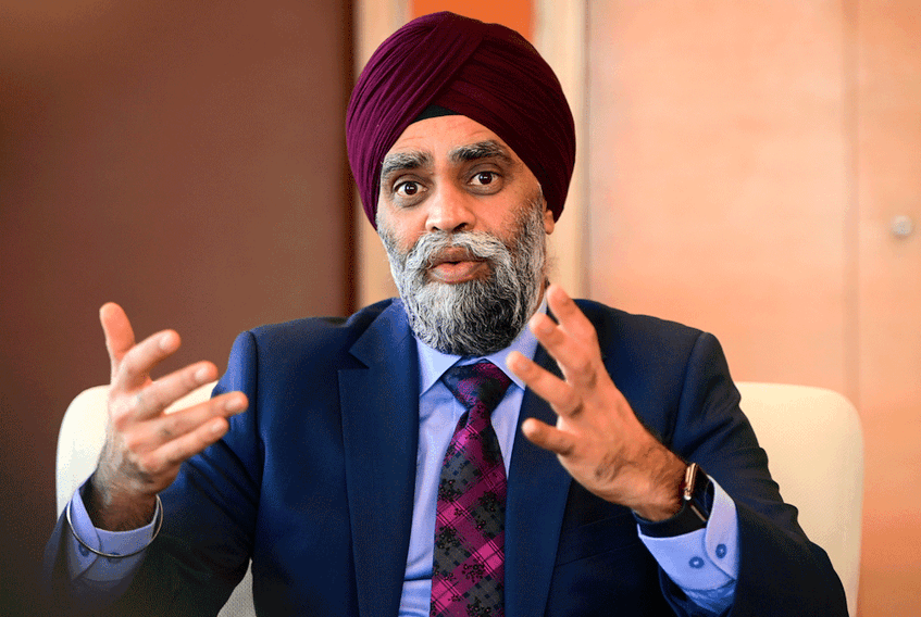 Minister of National Defence Harjit Sajjan.