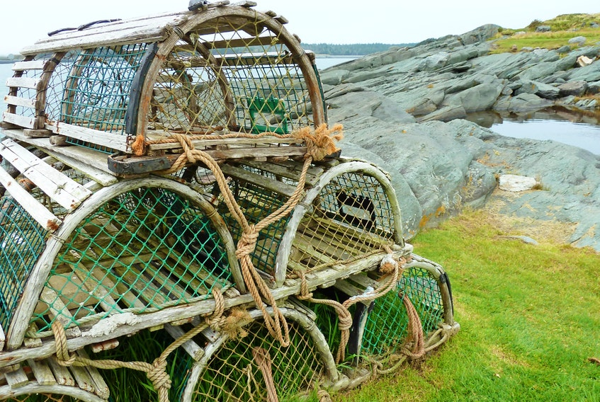 RCMP officers are investigating mischief to lobster traps that happened in the waters off Petit-de-Grat on April 29-30.
