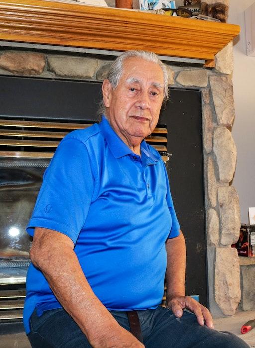 Albert Marshall, a residential school survivor, says he is