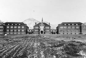 The Kamloops Indian Residential School had once been the largest residential school in Canada. This past Thursday, ground-penetrating radar surveying the site of the former residential school in B.C. uncovered evidence of 215 graves. -- CONTRIBUTED/NATIONAL CENTRE FOR TRUTH AND RECONCILIATION