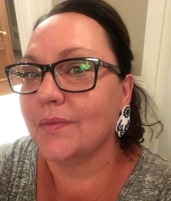 Annie Bernard-Daisley, chief of We'koqma'q First Nation, says the era of residential schools still has