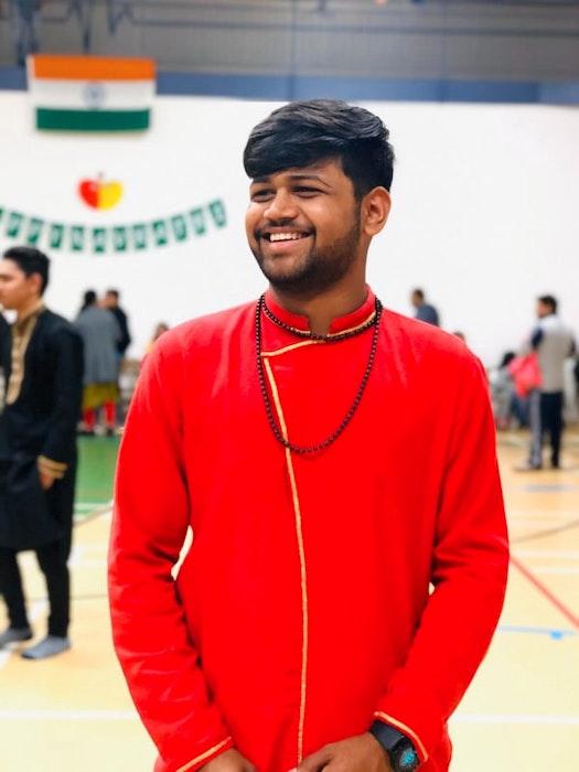 Krunal Patel is a UPEI student and practising Hindu in the Bochasanwasi Akshar Purushottam Swaminarayan Sanstha (BAPS) tradition.  - Contributed