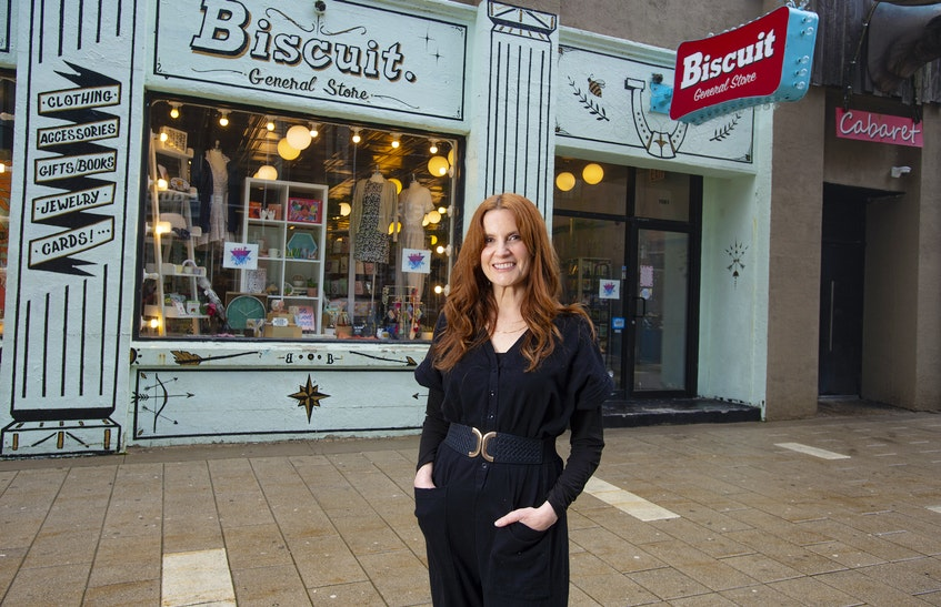 After 25 years of being a downtown fixture, Wendy Friedman and the Biscuit General Store will be moving to Gottingen St. Friedman is planning on opening the Gottingen store in September. - Ryan Taplin