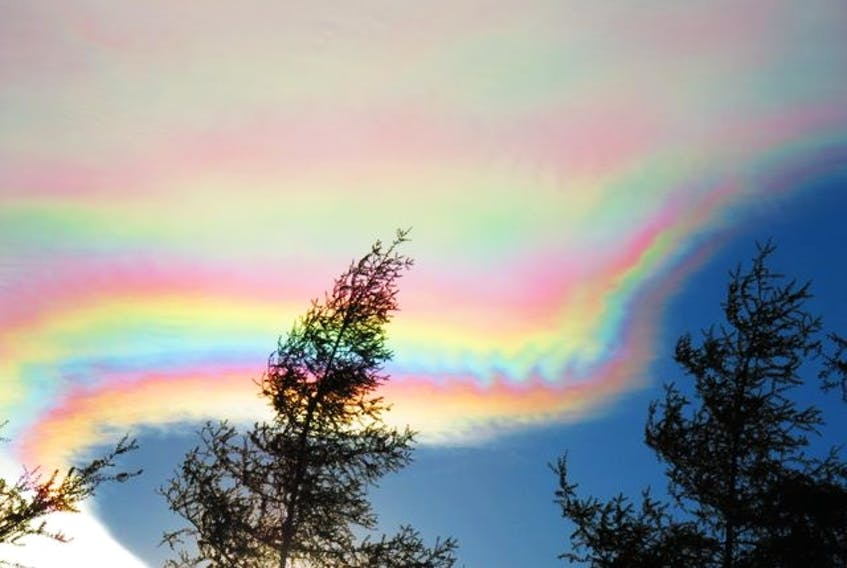 """""""Truly the most beautiful clouds I have ever seen."""" Corrine Kean, Shelburne, N.S."""