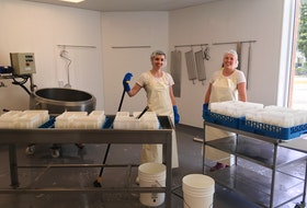 Blue Harbour Cheese is one of eight cheesemakers in Nova Scotia, each with its own distinct product.