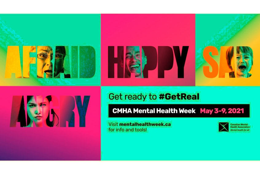 The Canadian Mental Health Association's (CMHA) 70th National Mental Health Week is May 3-9.