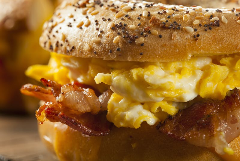 The pandemic has prompted many people to turn to comfort foods, and the humble breakfast sandwich is one of them. Breakfast sandwiches offer endless creativity in terms of toppings, how you cook your eggs, and which kind of bread you choose.  - RF Stock