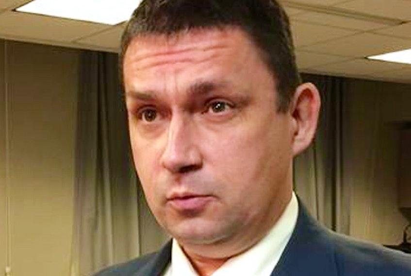 NLTA president Dean Ingram