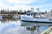 It was a quiet scene at the Toney River Wharf, a day before setting day for a new lobster season.