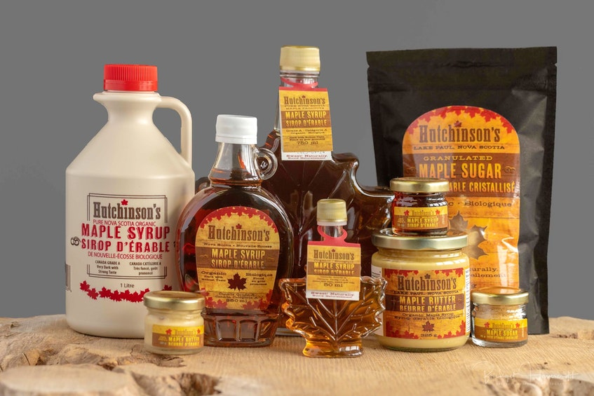 Hutchinson Acres produces up to 75,000 litres of maple syrup in the run of a year. - Contributed