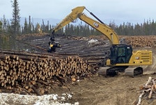 JP Forestry is selling some of the approximately 400,000 cubic metres of wood that had been harvested between 2013-2015 for the Muskrat Falls project to a Chinese buyer and the rest will be chipped and sold as biomass in Europe.