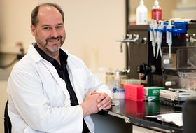 Rod Russell is an expert in viral immunology at Memorial University. (Rich Blenkinsopp)