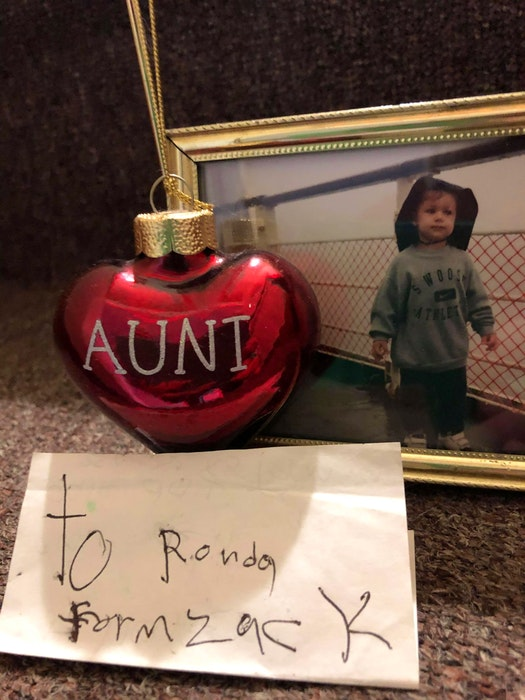 Cherished keepsakes of Zack Lefave by his aunt Rhonda Lefave. CONTRIBUTED - Contributed