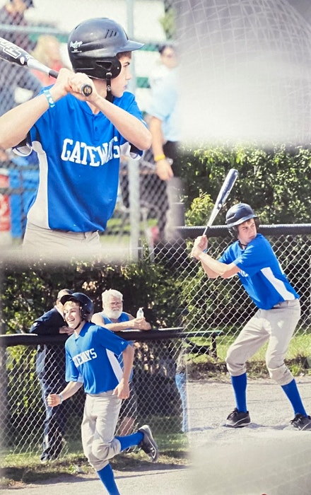 Zack LeFave loved sports growing up. He especially excelled in baseball. PHOTOS COURTESY OF FAMILY - Contributed