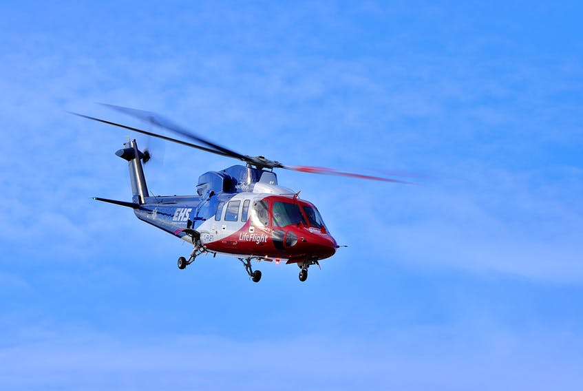 Kings District RCMP are investigating after a woman was struck by a vehicle in the parking lot of a New Minas business on May 4. EHS LifeFlight was called in to assist the woman, who suffered life-threatening injuries. – Adrian Johnstone