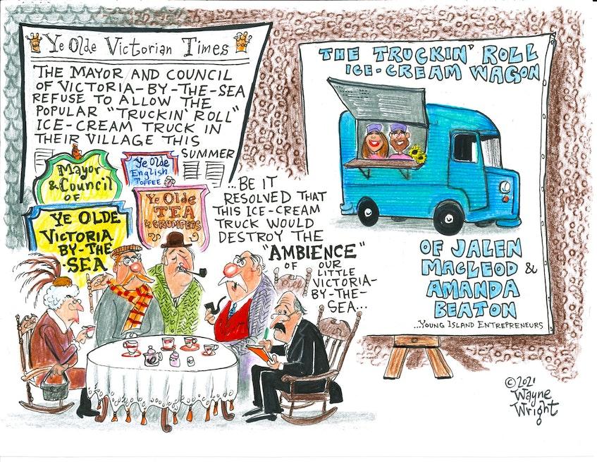 Wayne Wright's editorial cartoon for Wednesday, May 5, 2021. - Wayne Wright