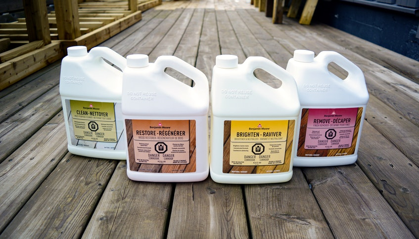 Whether your deck has weathered wood, unfinished wood, brand-new wood or previously stained wood, The Paint Shop has the right product for restoration or stain prep. - Photo Contributed.