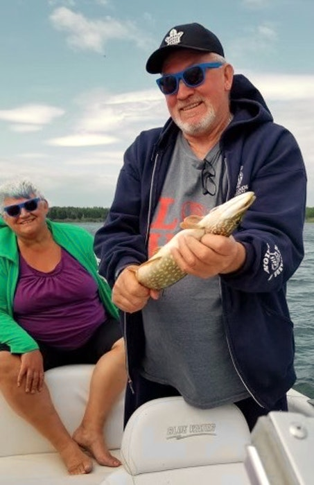 Darlene Vickery and Mark Symonds in a photo taken in the past during some recreational fishing. CONTRIBUTED - Photo  submitted