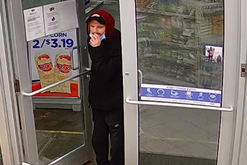 A man entered the Esso in Plymouth just before 3:00a.m. on March 25, he then made three purchases with a stolen debt card, police are asking anyone with information about this to please contact District RCMP at 902-755-4141 or Crime Stoppers, anonymously at 1-800-222-8477.
