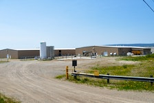 The Northern Harvest Smolt Ltd. salmon hatchery at Port Harmon, Stephenville, currently produces 4.5 million smolt. The company's plans to add more capacity here have been stymied, however, by court challenges and recent rulings. FILE PHOTO