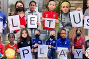 Ontario Soccer plans to send this composite image as part of a letter to Premier Doug Ford on Wednesday, urging the province to allow outdoor organized soccer again.